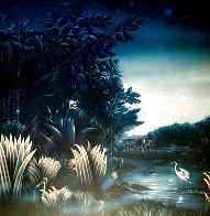Homage a Henri Rousseau: Tango in the Night 1987 Limited Edition Print by Brett Livingstone Strong - 0