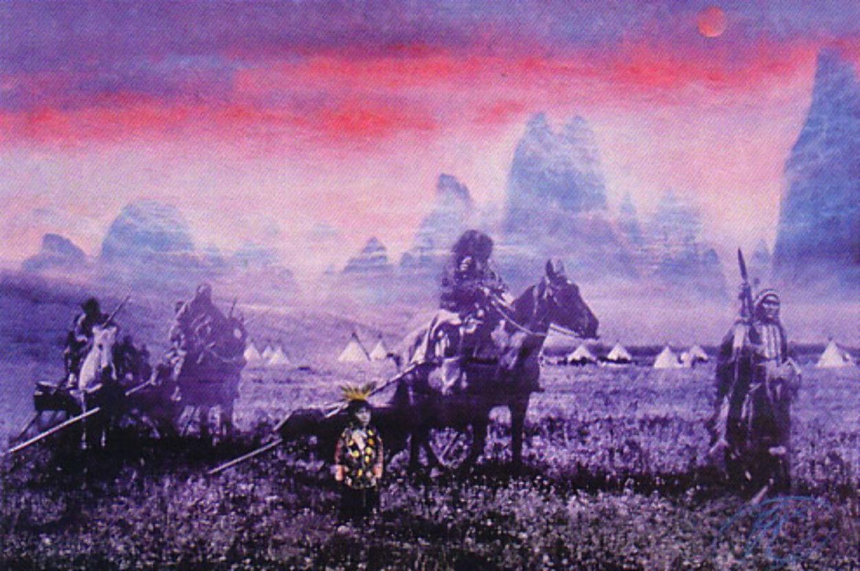 Vanishing Race Limited Edition Print by Brett Livingstone Strong