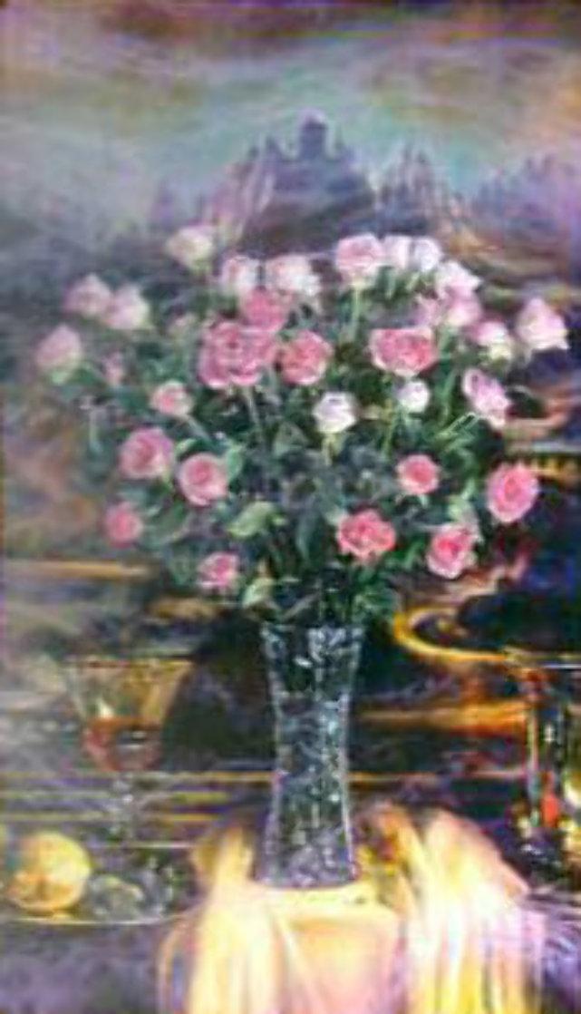 Renaissance Effect 41x35 Super Huge Original Painting by Brett Livingstone Strong