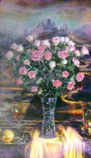 Renaissance Effect 41x35 Huge Original Painting - Brett Livingstone Strong
