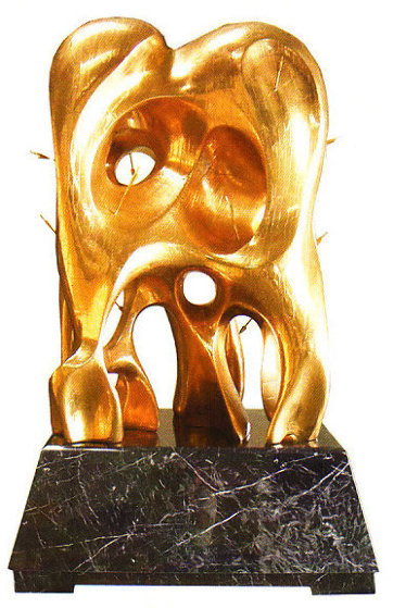 Formation of Life  - Life Size Copper Sculpture 72 in Sculpture by Brett Livingstone Strong