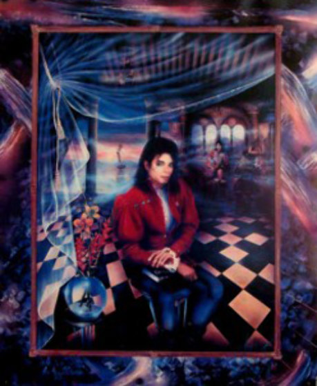 Book (Michael Jackson) Limited Edition Print by Brett Livingstone Strong