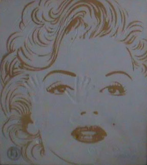 Tribute to Marilyn Monroe Cast Paper Limited Edition Print - Brett Livingstone Strong