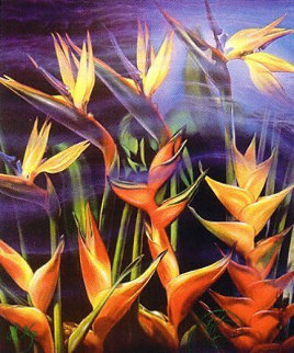 Birds of Paradise Limited Edition Print by Brett Livingstone Strong