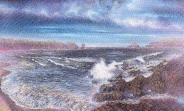 Surreal Sea 1989 Limited Edition Print by Brett Livingstone Strong