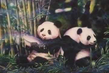 Pandas 1997 Limited Edition Print - Brett Livingstone Strong