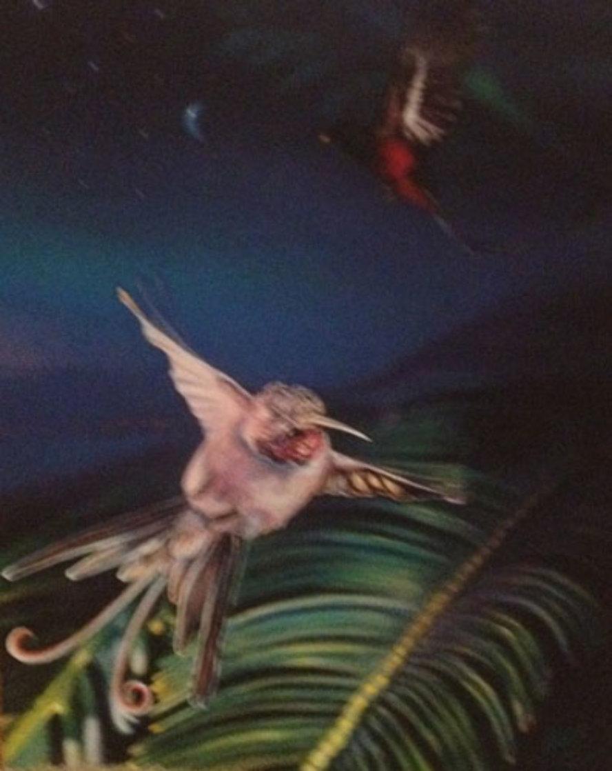 Hummingbird PP 1997 Limited Edition Print by Brett Livingstone Strong