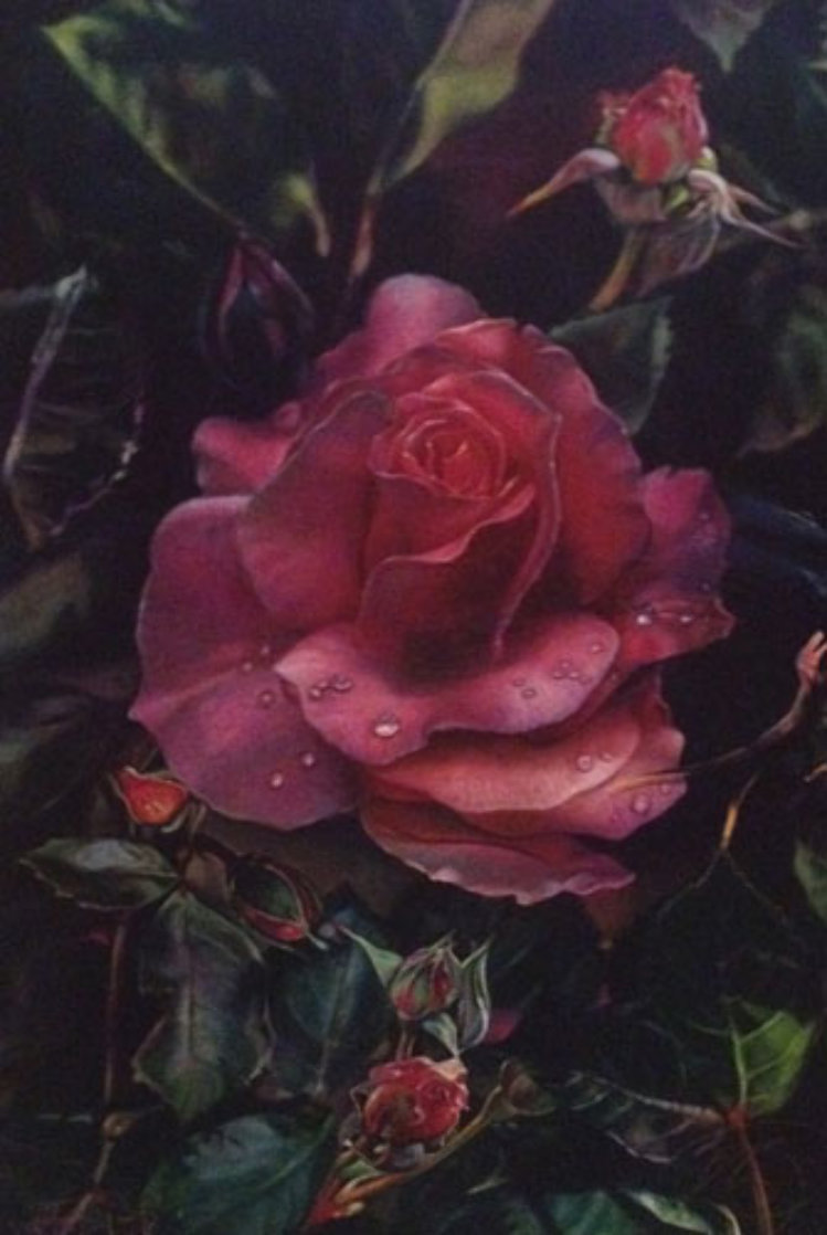 Prehistoric Rose 1997 Limited Edition Print by Brett Livingstone Strong