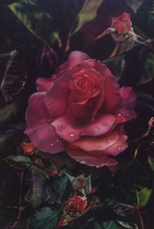 Prehistoric Rose 1997 Limited Edition Print by Brett Livingstone Strong