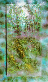 Emerald Rain Forest 1990 Limited Edition Print by Brett Livingstone Strong