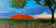 Ayers Rock Australia AP 1994 Limited Edition Print by Brett Livingstone Strong - 1