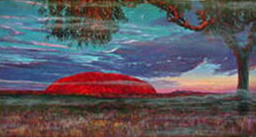 Ayers Rock Australia AP 1994 Limited Edition Print by Brett Livingstone Strong