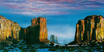 Monument Valley 1993 PP Limited Edition Print by Brett Livingstone Strong