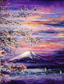 Mt.  Fuji, Japan 1992 Limited Edition Print by Brett Livingstone Strong