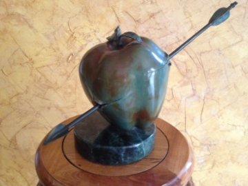 Our Vulnerable World Bronze Sculpture 1991 Sculpture by Brett Livingstone Strong