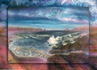 Surreal Sea 1990 30x40 Super Huge Limited Edition Print by Brett Livingstone Strong - 0