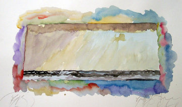 Lyric Winds Watercolor 1970 18x18 Watercolor - Brett Livingstone Strong