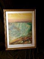 Niagara Falls 1992 Limited Edition Print by Brett Livingstone Strong - 2
