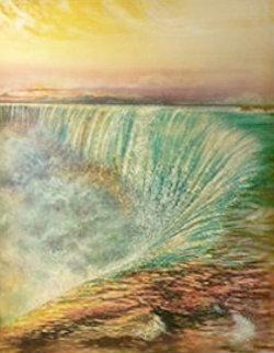 Niagara Falls 1992 Limited Edition Print by Brett Livingstone Strong