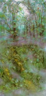 Emerald Rainforest 1990 Limited Edition Print - Brett Livingstone Strong