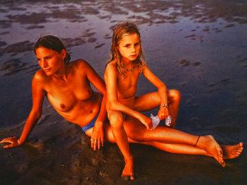Mylene Et Adele: Montalivet, France 2001 Photography - Jock Sturges