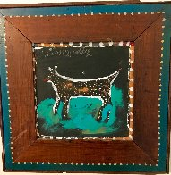 Dog 2002 31x31 Original Painting by Jimmy Lee Sudduth - 1