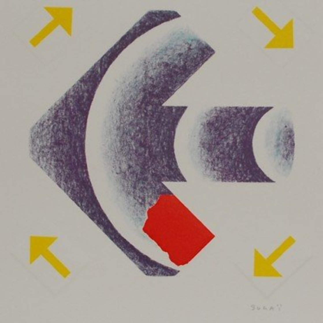Sagittaire 1990 Limited Edition Print by Kumi Sugai