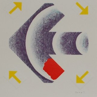 Sagittaire 1990 Limited Edition Print - Kumi Sugai