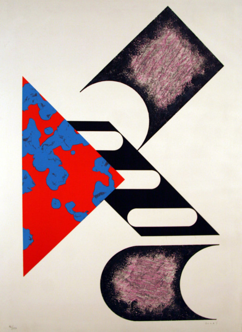 Composition 2 Limited Edition Print by Kumi Sugai