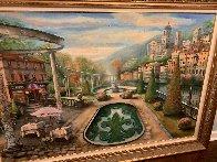 View At Mount Pelmo 45x65 Original Painting by Vadik Suljakov - 3
