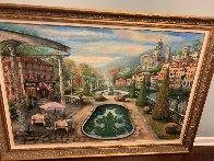 View At Mount Pelmo 45x65 Original Painting by Vadik Suljakov - 2