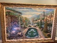 View At Mount Pelmo 45x65 Original Painting by Vadik Suljakov - 1