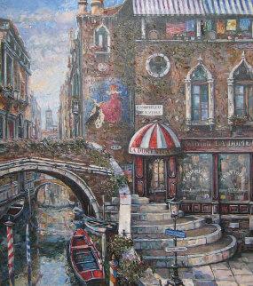 La Domenica 2000 36x40 Original Painting - Vadik Suljakov