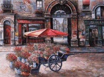 Fleurs De La Ville PP Limited Edition Print - Vadik Suljakov