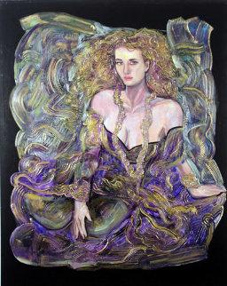 Beyond Tonight 60x48 Original Painting by Vadik Suljakov