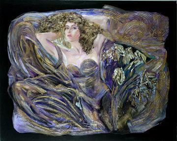 Burst of Beauty Original Painting - Vadik Suljakov