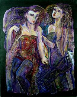 Interlude 60x48 Huge Original Painting - Vadik Suljakov