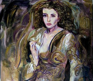 Personal Touch 30x34 Original Painting - Vadik Suljakov