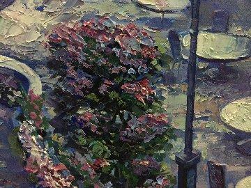 View from the Grand Hotel 48x60 Original Painting - Vadik Suljakov