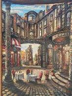 Cafe Piezze Lunette 2005 40x30 Huge Original Painting by Vadik Suljakov - 2