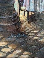 Cafe Piezze Lunette 2005 40x30 Huge Original Painting by Vadik Suljakov - 3