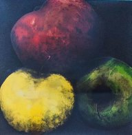 Apples 1989 Limited Edition Print by Donald Sultan - 0