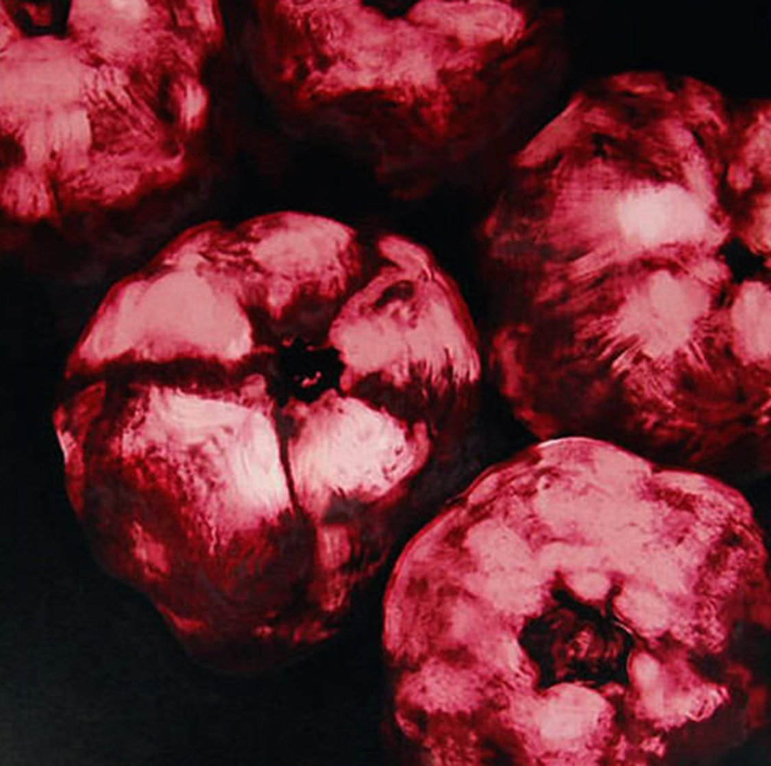 Pomegranates 1994 Limited Edition Print by Donald Sultan