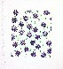 Wallflowers (Purple) 2009 Limited Edition Print by Donald Sultan - 1