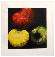 Apples (From Fruits And Flowers) 1989 Limited Edition Print by Donald Sultan - 1