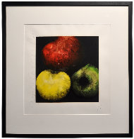 Apples (From Fruits And Flowers) 1989 Limited Edition Print by Donald Sultan - 2