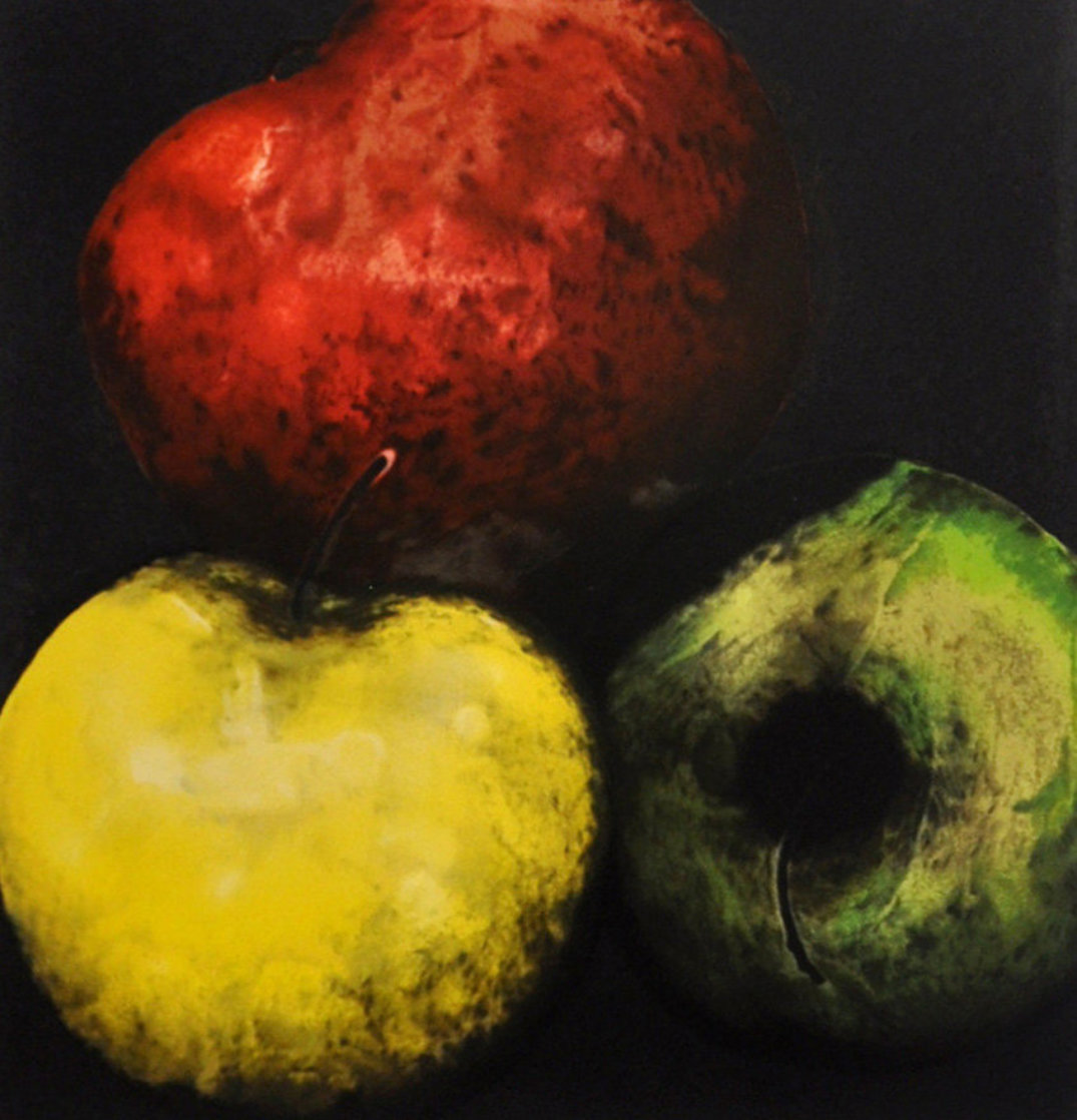 Apples (From Fruits And Flowers) 1989 Limited Edition Print by Donald Sultan