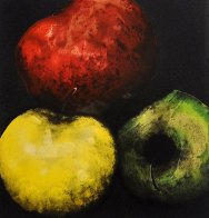 Apples (From Fruits And Flowers) 1989 Limited Edition Print by Donald Sultan - 0