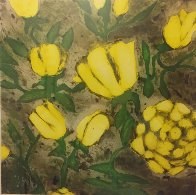 Yellow Roses 1992 Limited Edition Print by Donald Sultan - 2