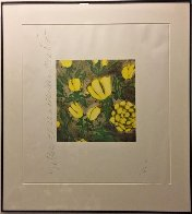 Yellow Roses 1992 Limited Edition Print by Donald Sultan - 1
